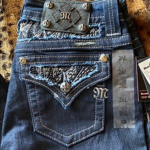 NWT MISS ME easy boot jeans